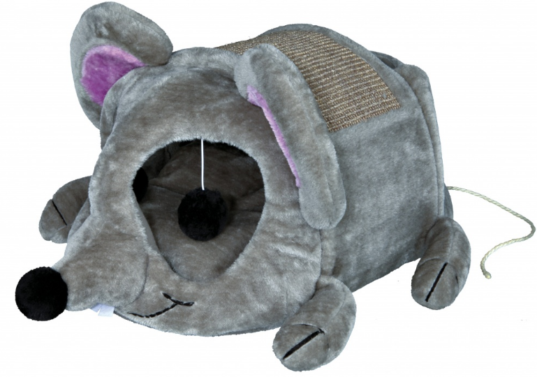 legowisko drapak budka dla kota mysz trixie 36290 koty. Black Bedroom Furniture Sets. Home Design Ideas