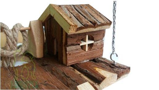 Nowoczesna architektura Zabawka, plac zabaw domek dla chomika myszy Trixie | Chomiki Myszy ON85